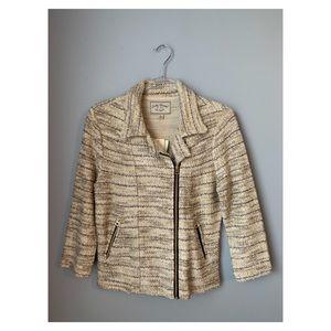 Lucky Brand Tweed Moto Jacket NWT Medium